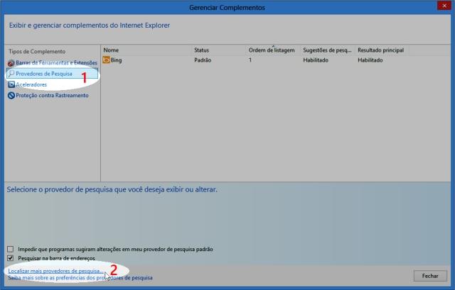 Como configurar o Google no IE 10 - Windows 8